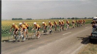 1992 op weg door het Franse land