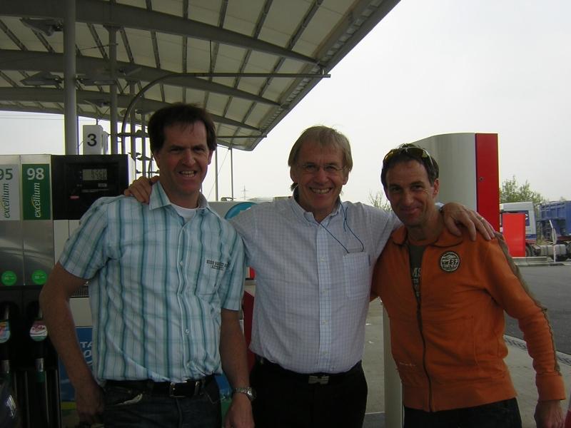 2008 Waalse pijl, met Daniel Mangeas,stem van de Tour