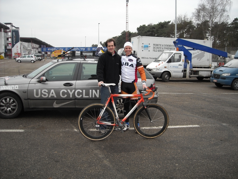 2008Zolder,met coach USA-cross Geoff Proctor