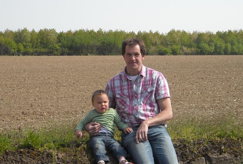 2011 Amstel, met de kleine Leonardo