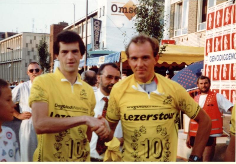 1990 Lezerstour met Johan Museeuw